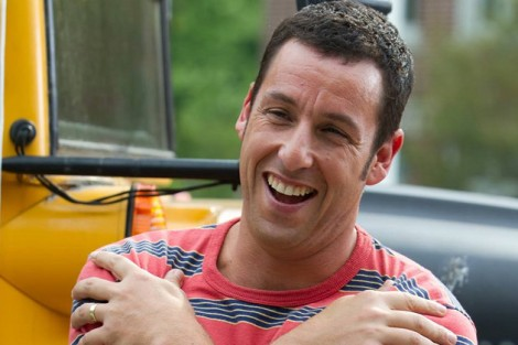 What a loveable guy! everyone's favourite comedian Adam Sandler