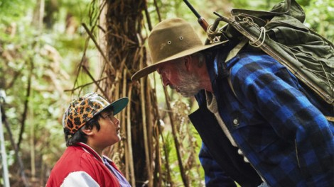 Ricky and Hector form an unlikely duo in Hunt for the Wilderpeople