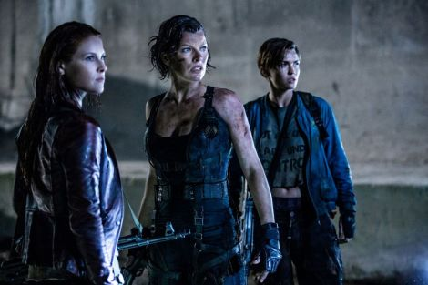 Resident Evil The Final Chapter promotional still