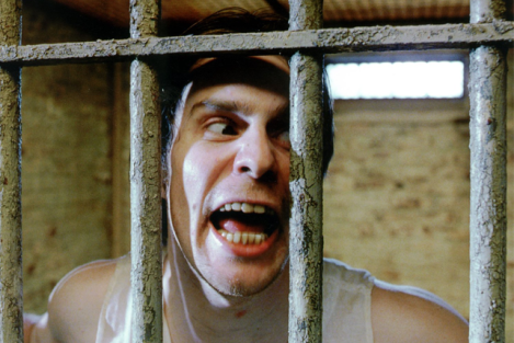 Sam Rockwell can certainly play unhinged as evidenced in The Green Mile