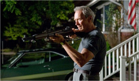 Older yet just as deadly in 2008's Gran Torino
