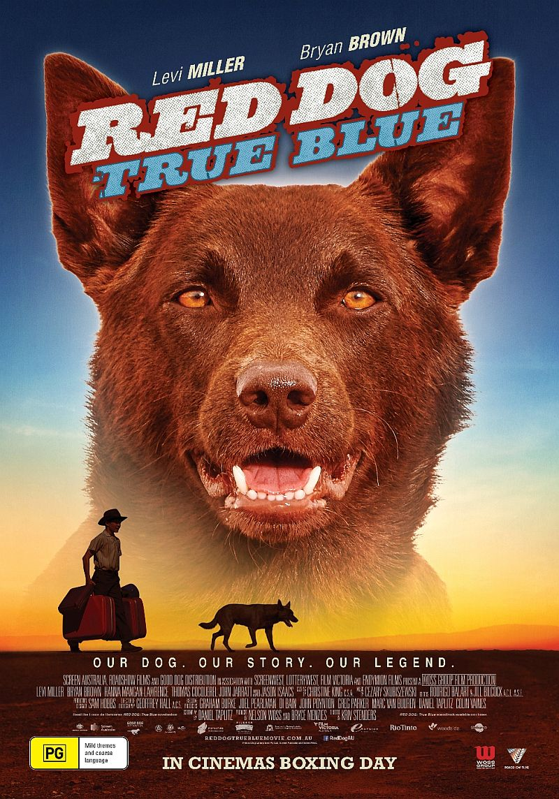 Red Dog True Blue 2016.