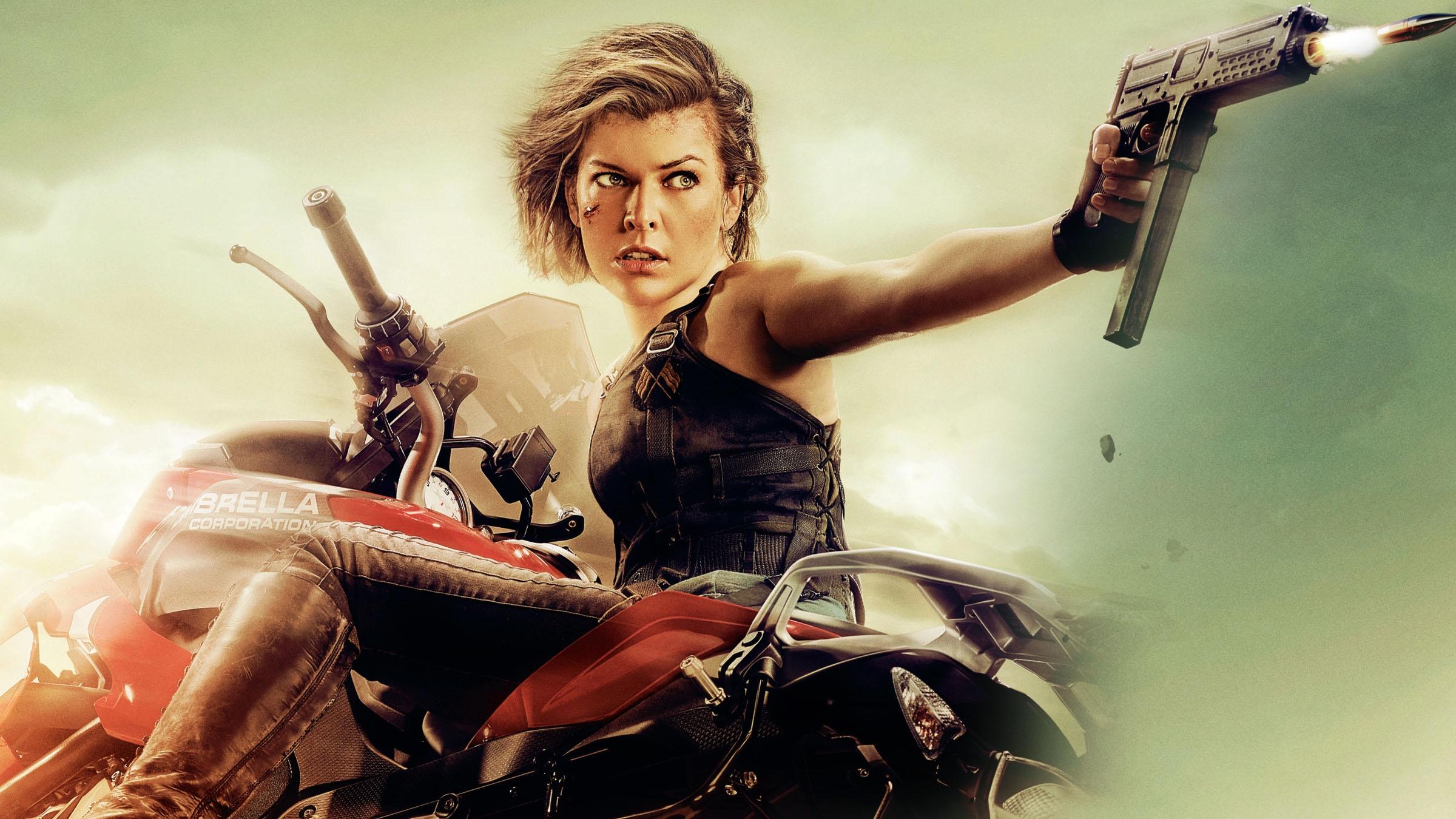 Wallpaper Milla Jovovich Ali Larter Ruby Rose Resident: Resident Evil: The Final Chapter (2017