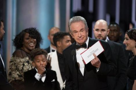 Industry legend Warren Beatty won't be living this moment down anytime soon