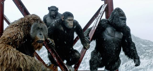 Film Review War For The Planet Of The Apes 2017 Jordan And Eddie The Movie Guys