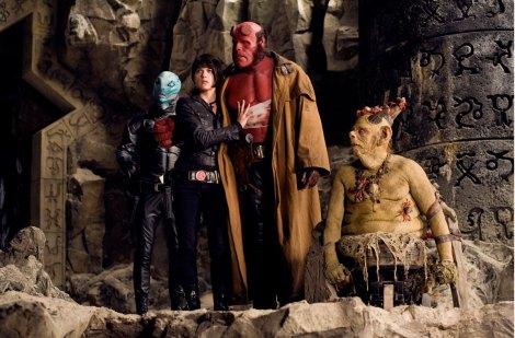 The Hellboy 2 crew