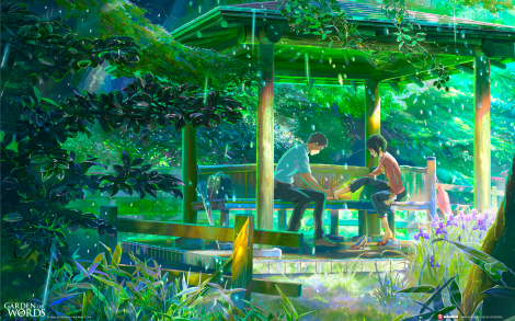 The Garden of Words - Madman Entertainment