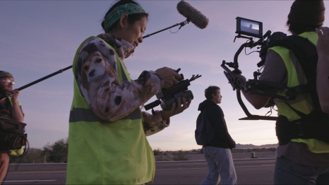 Director/Writer Chloé Zhao and Frances McDormand made for quite the team on Nomadland